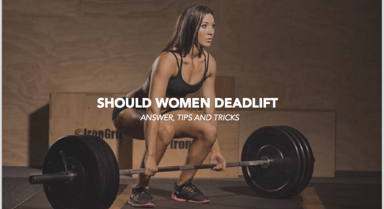 should women deadlift