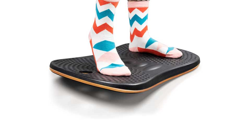 FEZIBO Wooden Wobble Balance Board