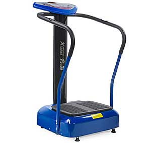 XtremepowerUS 2000W Slim Full Body Vibration Platform